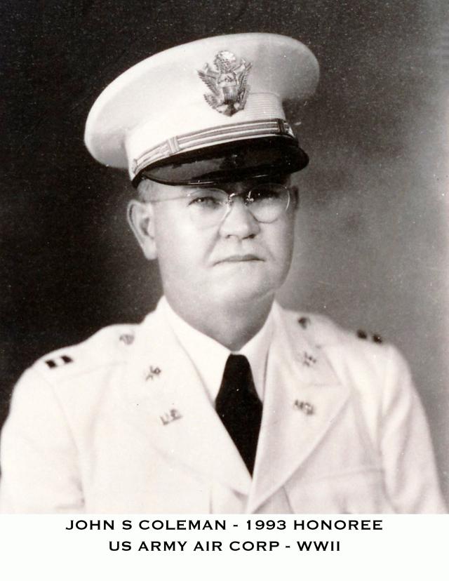 Coleman John PVHOH